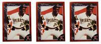 (3) 1992 Legends #17 Barry Bonds Baseball Card Lot Pittsburgh Pirates