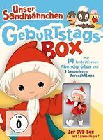 UNSER SANDMÄNNCHEN-KLASSIKER - GEBURTSTAGS-BOX 3 DVD NEU