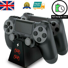 For PS4 Charger Compact Fast PlayStation4 Controller Charging Dock Stand Station
