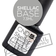CND SHELLAC Base Coat 7.3ml + FREE CND Foil Remover Wraps