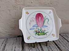 Square Handled Cake Plate in Le Ballon by Villeroy & Boch Hot Air Balloon Print