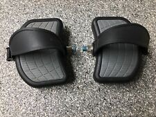 """BIKE Pedals Pair 9/16"""" w/Straps 