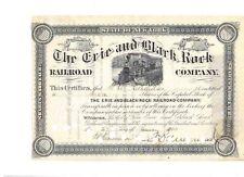 Erie and Black Rock Railroad Company  1903