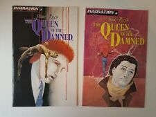 Anne Rice's The Queen of the Damned #3 & 4 Lot. Innovation Comics 12 Mini. VF/NM