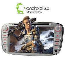 "7"" Android 6.0 DVD GPS Autoradio für Ford Focus S-MAX C-MAX Mondeo Kuga Silber"