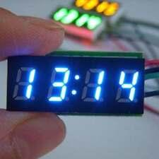 """0.30"""" Digital Clock 12V 24V Car Uhr Motorcycle LED Watch Meter 24 hour time B"""