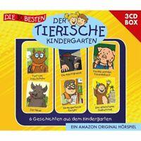 Der Tierische Kindergarten 3-CD-Box Vol.1 Box-Set 3CD NEU OVP