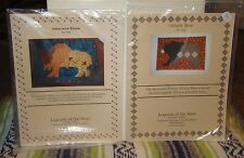 Lot of 2 Legends of the West Quilting Patterns: American Bison and Grizzly Bear