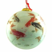 Ornament  Fish In Lotus Pond - CO200 FREE SHIPPING  C11