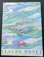 Barbie Claude Monet Water Lily Doll 1st in Series Mattel 1997