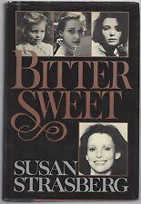 """Bittersweet"", Autobiography by Susan Strasberg, Signed 1st Ed., COA UACC RD 036"