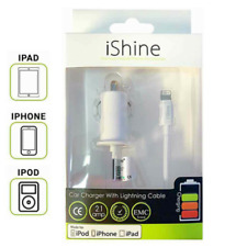 Genuine Lightning Car Charger MFI Approved For Apple iPhone 11 X 8 7 Plus iPad