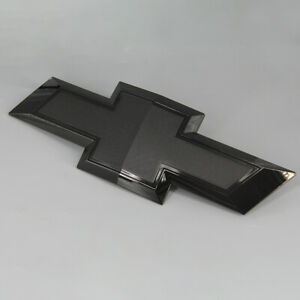 Front  Fits Chevrolet Tahoe Suburban Full Black Bowtie Emblem