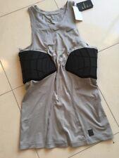 Men's Nwt Nike Basketball Compression Sleeveless Shirt Size 3Xlt Light Gray