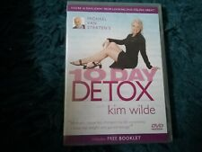 Michael Van Straten's 10 Day Detox With Kim Wilde (DVD, 2004) new freepost