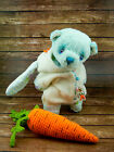 Handmade menthol color teddy bear, 6,5 inches, by Irina Chernyavskaya