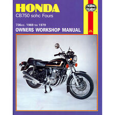 HAYNES MANUAL Honda CB750 CB750A CB750F CB750K SOHC Fours 1969-79