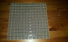 Self Adhesive Glass mosaic tile for kitchen&bathroom backsplash.peel and stick