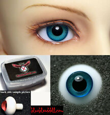 1/3 1/4 1/6 bjd 16mm teal high quality glass doll eyes dollfie luts TS-24 shipUS