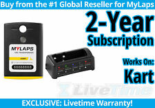 MyLaps TR2 Kart Rechargeable Transponder w/ 2-year Subscription