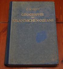 Geographie des Atlantischen Ozeans. Unveranderter neudruck der im auftrage der..