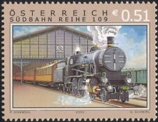 Austria 2002 Trains/Railways/Rail/Steam Engine/Locomotive/Transport 1v (s3147)