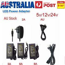 AU Plug DC 5V 12V 24V Power Supply Charger Transformer LED Strips Adapter