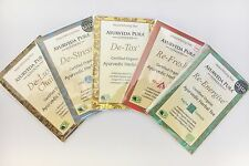 Ayurveda Pura London Original Tea Selection Samples Vata,Pitta,Kapha,DeTox,Chai