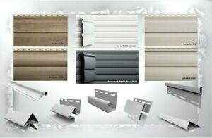 Fassadenpaneele Lagerware ab 3 Meter Fassadenverkleidung Kunststoffpaneele