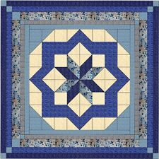 Quilt Kit/Constellation Beautiful Classic Navy/Pre-cut Fabrics Ready To Sew/QN**