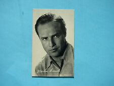 1947/66 TELEVISION & ACTORS EXHIBIT CARD PHOTO MARLON BRANDO SHARP!! EXHIBITS