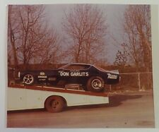 Don Garlits 1971 Dodge Charger Funny Car 8x10 Photo TRAILERED!!