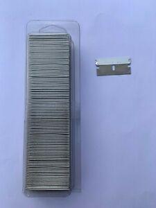 100 x Single Edge Safety Razor Window Scraper Blades Heavy Duty