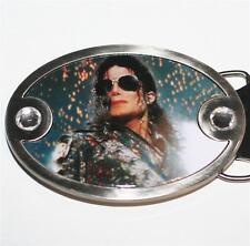 MICHAEL JACKSON MJ King of Pop WEARING SUNGLASS PHOTO Unisex BELT BUCKLE New
