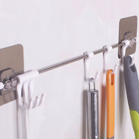 1PC 6 Hook Cupboard Towels Hanger Storage Rack Tools Home Organizer Supplies