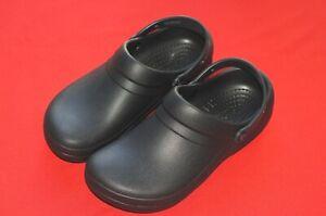 Crocs Specialist Work Shoes Sandals Black Mens Size 10 Womens Size 12 Excellent