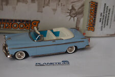 BROOKLIN BRK 183 1955 CHRYSLER WINDSOR CONVERTIBLE COUPE WISTERIA BLUE 1/43