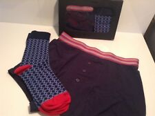 BNIB 100% Auth Duchamp Mens Luxury Gift Set Boxers Trunks & Socks. XL RRP £45.00