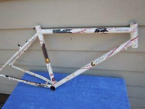 """16"""" Kona Cinder Cone Vintage Mountain Bike Frame Splatter Paint Paul Brodie"""
