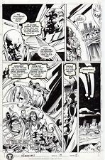 Scot EATON- Mike BARREIRO Original Art Página PRIMORTALS