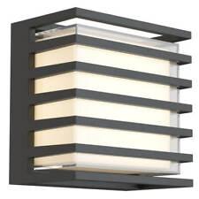 Maytoni Downing Street LED Wandleuchte 10W Schwarz IP65