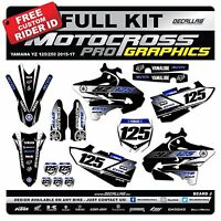 YAMAHA YZ 125 250 2015 2016 MX Graphics Decals Stickers Decallab
