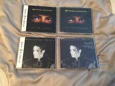 Michael Jackson (4) CD's - Maxi-singles/Promo's - New/New Condition