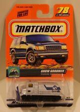 Snow Groomer #78 Matchbox 1998 Snow Plow Tank Tracks Explorers