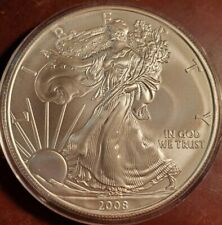 2008 American Silver Eagle 1 oz Brilliant Uncirculated