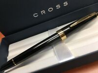 "Cross Aventura Black Fountain Pen ""M"" Nib"