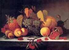 Mary Jane Peale Fruit A4 Print