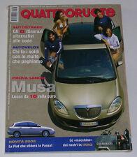 QUATTRORUOTE 8/2004 MINI COOPER S JCW - RENAULT CLIO RS - PEUGEOT 206 RC