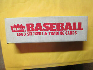 1986 FLEER BASEBALL COMPLETE FACTORY SET IN BOX 660 ROOKIE JOSE CANSECO