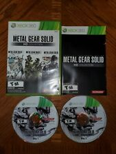Metal Gear Solid HD Collection (Microsoft Xbox 360, 2011) Complete